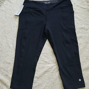 Marika Pants - Marika Sport Black capris sport workout pants